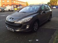 2008 PEUGEOT 308 SW 1.6 HDI 110 SE 5 Door MPV - FULL HISTORY - FULLY LOADED - PAN ROOF - MINT 307