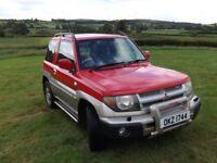 2001 Mitsubishi Shogun Pinin 1.8 16v, 76k miles! 2WD & 4WD & Diff Lock!