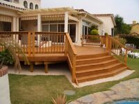 Summer houses, decking and other Carpentry services