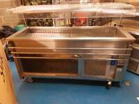 Moffat refrigerated buffet counter and display