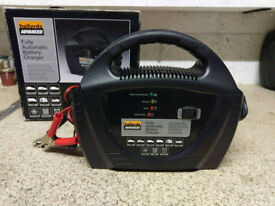 Halfords Automatic Car Battery Charger