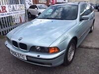 BMW 528i AUTOMATIC ESTATE PETROL SUN ROOF LEATHER SEATS 1 OWNER PRIVATE PLATE SERVICE HISTORY