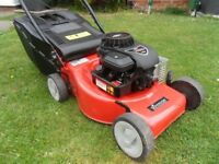 Hedge trimmer and mower petrol push