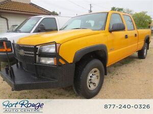 2006 Chevrolet Silverado 3500 LS 4X4 CREW CAB LONG BOX
