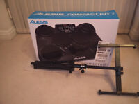Alesis CompactKit 7 Portable Electronic Drum Kit With Stand