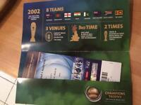 4 tickets to Champions Trophy - Australia v New Zealand, Edgbaston, Friday 2 June
