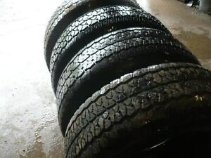 four 275-70-18 tires $250.00