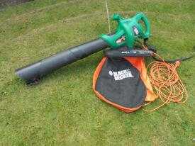 Black & Decker leaf vacuum