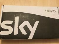 BRAND NEW LATEST SKY HD BOX PLUS BOX UNWANTED GIFT SEALED IN THE BOX COMPLETE WITH REMOTE CONTROL