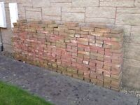 Hand made Victorian bricks - around 370 - unused