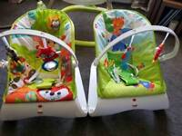 Fisher Price Bouncers x 2
