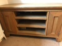 TV cabinet - solid oak