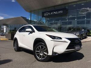 2015 Lexus NX 200t Premium AWD LEATHER SUNROOF BACK UP CAMERA
