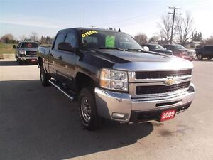 2009 Chevrolet SILVERADO 2500HD LT,DIESEL,CREW,SHORT,4X4,142 KM! Kitchener / Waterloo Kitchener Area image 2