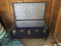 Old chest trunk