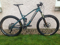 Canyon Spectral AL 7.0 Full Suspension Mountain Bike (2016) Medium size