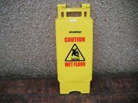 Caution (Wet Floor) Signs