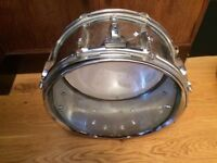 Used Pearl Steel Shell Snare Drum