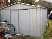 Metal shed 9x9