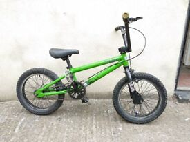 "Kids bike 'Stolen Nipper' 16"" wheel, 5-8 yrs Bristol Upcycles bmx childs l"