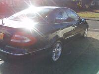 2004 Mercedes CLK320 Auto , Dark blue , good service history - needs mot