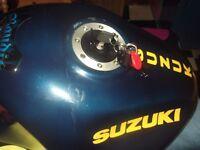 SUZUKI BANDIT LOCKING PETROL CAP AND KEY