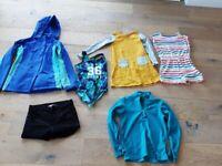 girls clothes bundle, age 10-11, as new Boden, John Lewis, jumpsuit, coat, swimsuit etc