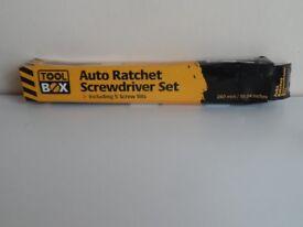 auto ratchet screwdriver set
