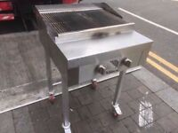 CHARCOAL FASTFOOD CATERING GAS BBQ MEAT GRILL MACHINE COMMERCIAL STEAK RESTAURANT TAKEAWAY OUTDOORS