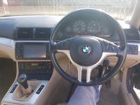 (SPARES OR REPAIR) BMW 318Ci mora purple