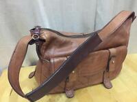 Tan Tommy Hilfiger HANDBAG- leather p