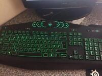 Alienware gaming keyboard