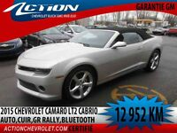 2015 CHEVROLET CAMARO CONVERTIBLE LT GROUPE 2,AUTO,GR.RALLY,BLUE