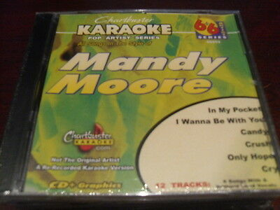 Chartbuster 6 6 Karaoke Disc 40419 Mandy Moore Cd G Pop Multiplex Sealed