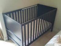Ikea baby crib for sale with mattress