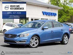2015 Volvo S60 T5 AWD! 160KM FULL VOLVO WARRANTY! 0.9% FINANCING