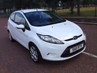 2011 Ford fiesta 1.2 , finance from £30 a week , mot - March 2017 , service history,corsa,clio,207