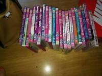 Dvds.. Barbie set