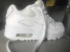Kids Nike Air Max 90 - size 10
