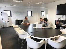 Cardiff Office Space. Private Office or Hot Desk. Free fast internet, meeting rooms, studio.