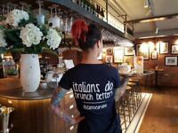 Experienced Waiting Staff - Spitalfields - E1