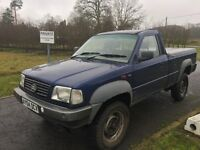 2004 Tata TL2 SWB Pick Up, 2.0 Turbo Diesel, 5 speed manual