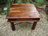 Coffee table. (Takhat Sheesham Wood).