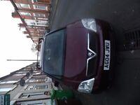 Vauxhall meriva 1.7