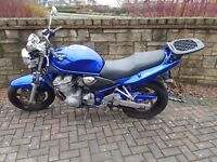 Suzuki GSF 600 Bandit 2001 very low milage