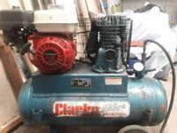 Air compressor portable petrol