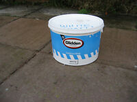 EMULSION PAINT very light blue approx 4 litres.