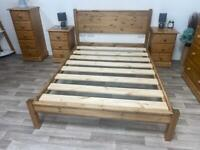 Solid Pine Wooden Bed Frames. Brand New.