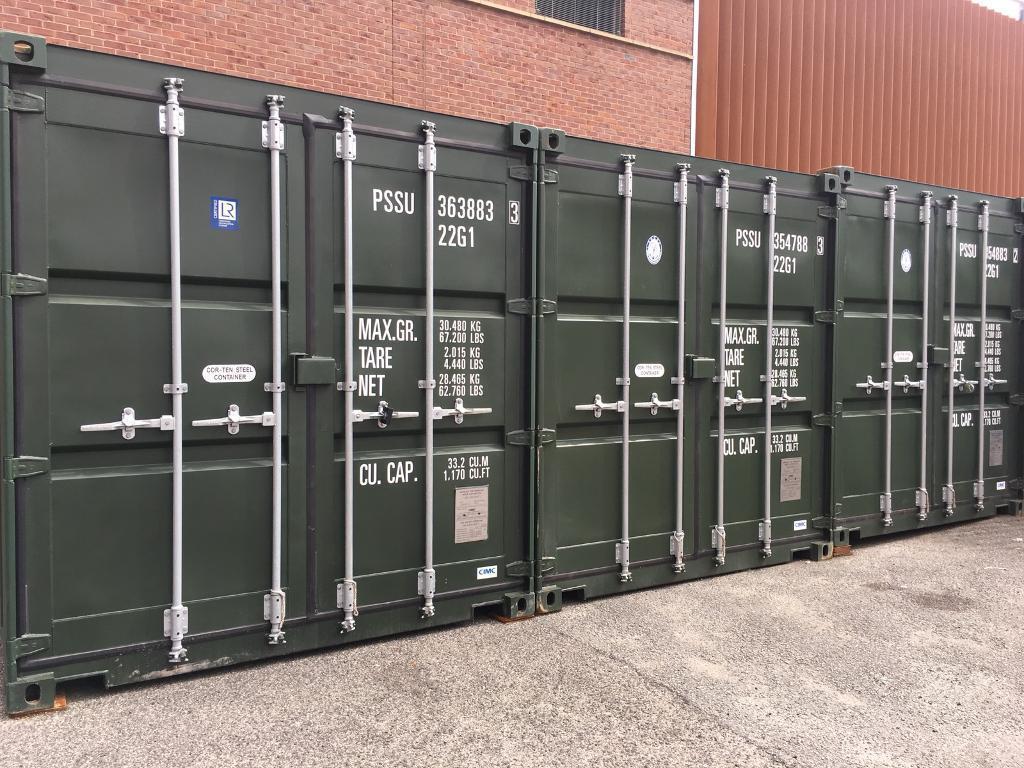 Business storage container to let at Ashton Tameside in Ashton