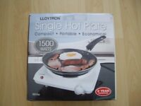 Lloytron Single Hot Plate
